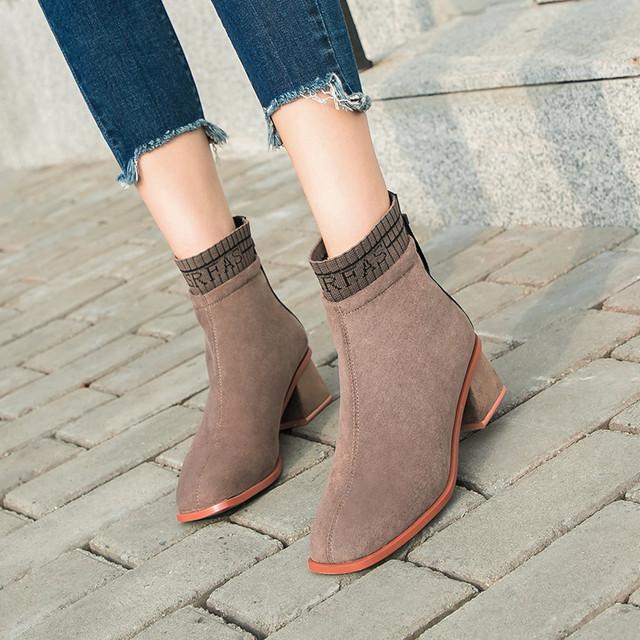 【shoes】イングランド風PU合わせやすいカッコイイブーティー 23012288