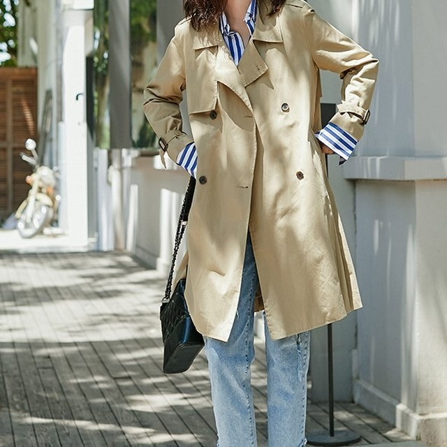 Trench coat KRE746