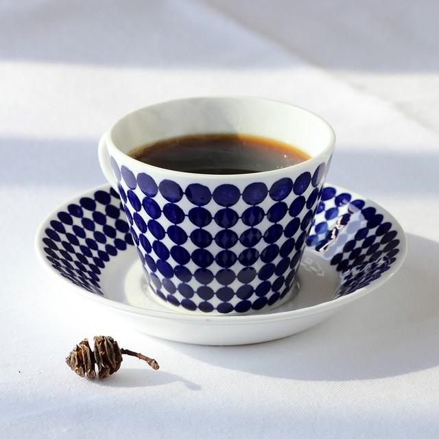 Gustavsberg グスタフスベリ Adam アダム 80mmコーヒーカップ&ソーサー - 4 北欧ヴィンテージ