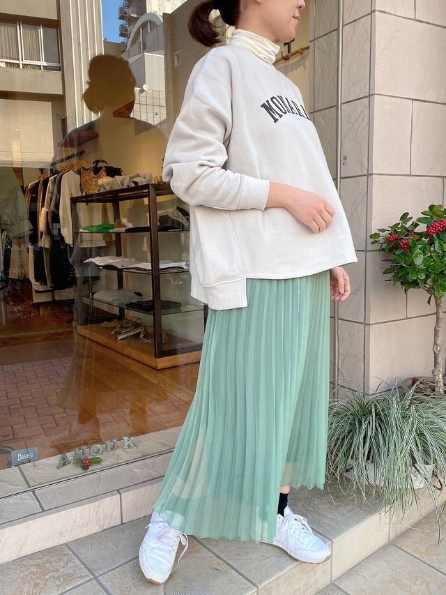 SONO / グラスプリーツロングスカート