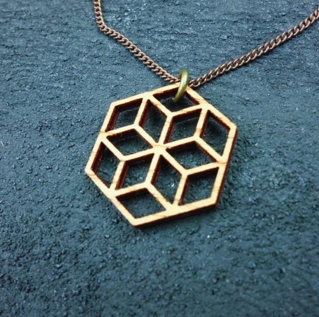 geometric pendant NKP-KK