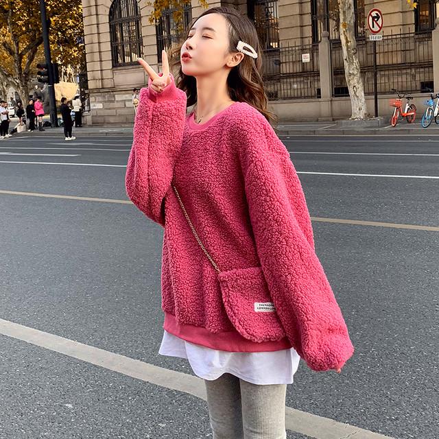 【tops】重ね着風合わせやすいオトナ女子必見セーター 23434919
