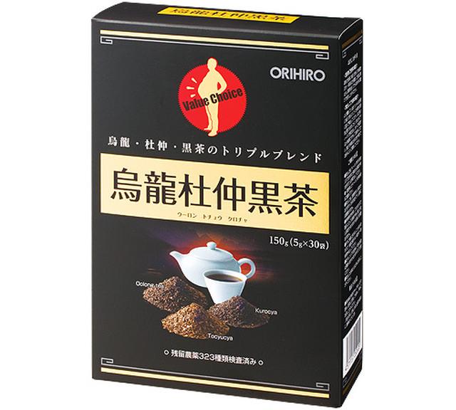 ORIHIRO 烏龍杜仲黒茶 5gx30袋