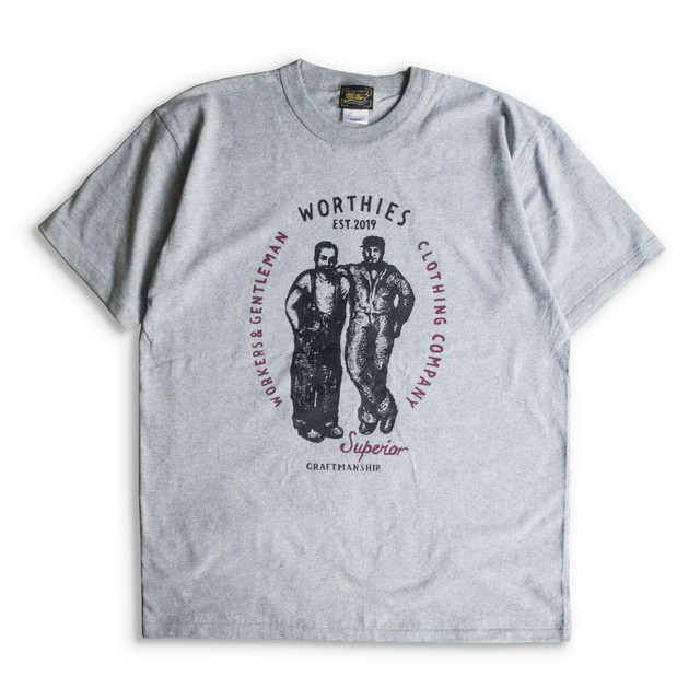 WORKER BROS. S/S TEE Grey