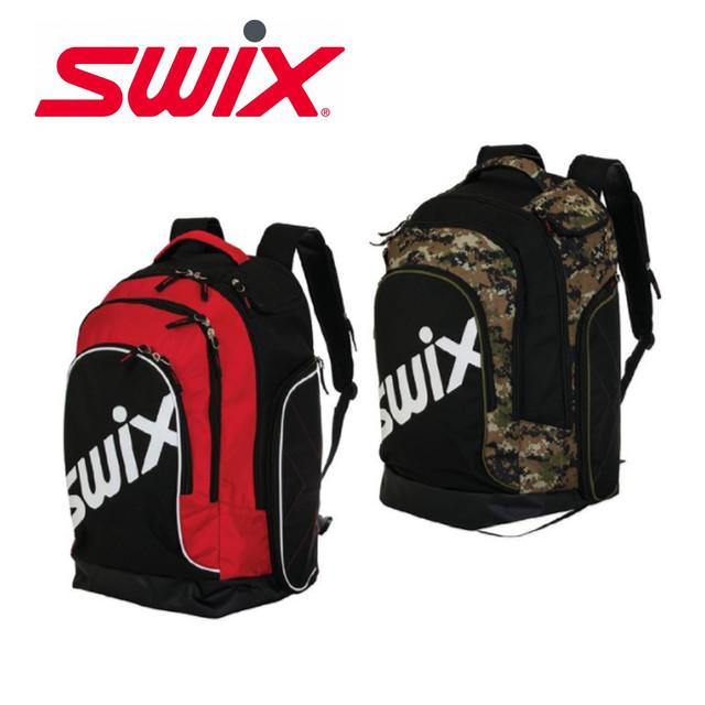 Swix スウィックス スキー バッグ ブーツ バッグ 60リットル レッド ブラック 大容量 NNT26