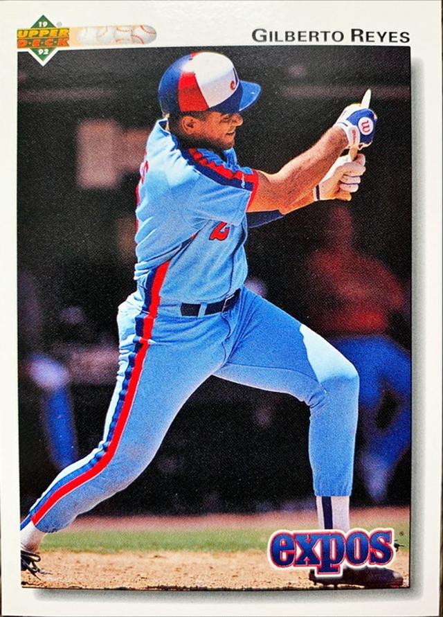 MLBカード 92UPPERDECK Gilberto Reyes #230 EXPOS