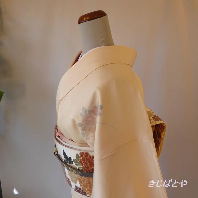 【T様ご予約品】大島紬 レトロモダンな総柄小紋 袷