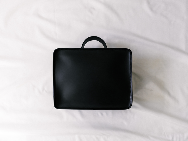 Leather Notebook Bag