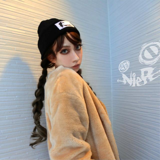 NieR オリジナルニット帽(ボンボン無し)