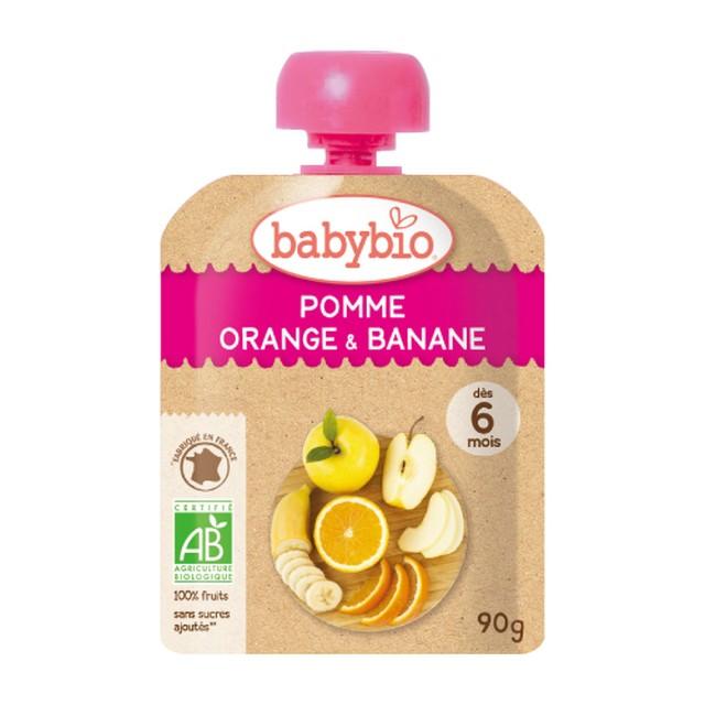 【有機】ベビースムージーアップル・オレンジ・バナナ 90g