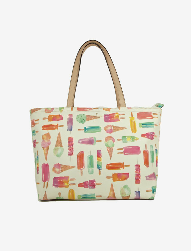 KATE SPADE FLAVOR OF THE MONTH ICE CREAM FRANCIS  BAG ケートスペード アイスクリーム トートバッグ