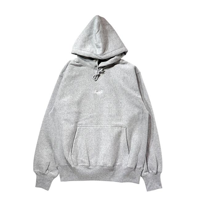 BASIC LOGO 019 pullover <Gray×White> - メイン画像