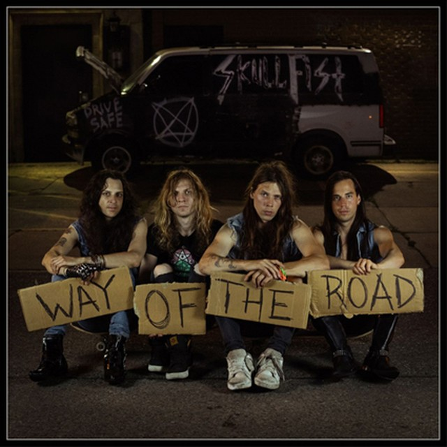 "SKULL FIST ""Way Of The Road"""