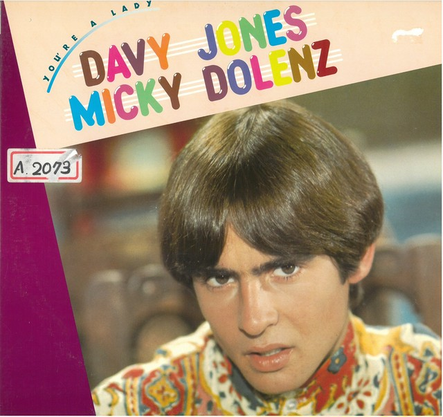 DAVY JONES , MICKY DOLENZ / YOU'RE A LADY (LP) 日本盤