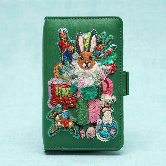 刺繍モバイルケースM Chinoiserie