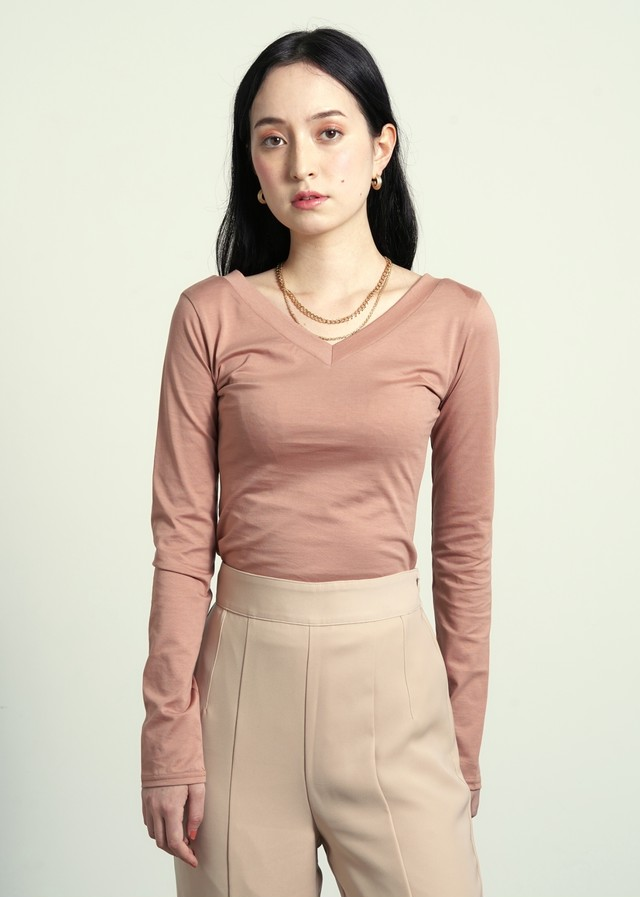 2way tight tops  (terracotta pink)