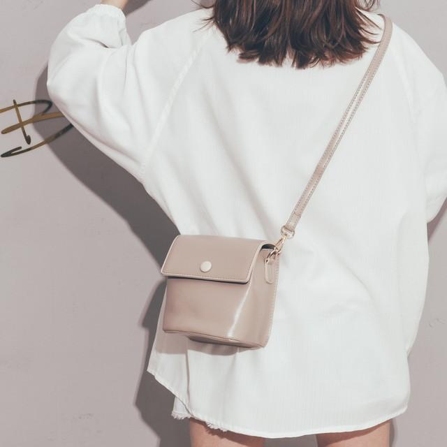 【小物】可愛いスウィートカートゥーンファスナー斜め掛けバッグ