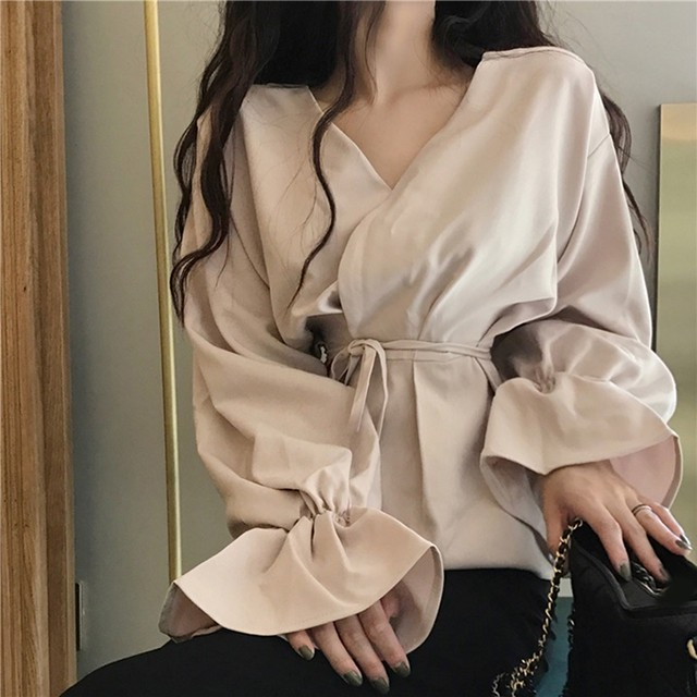 ボリュームスリーブドレスシャツ 1508