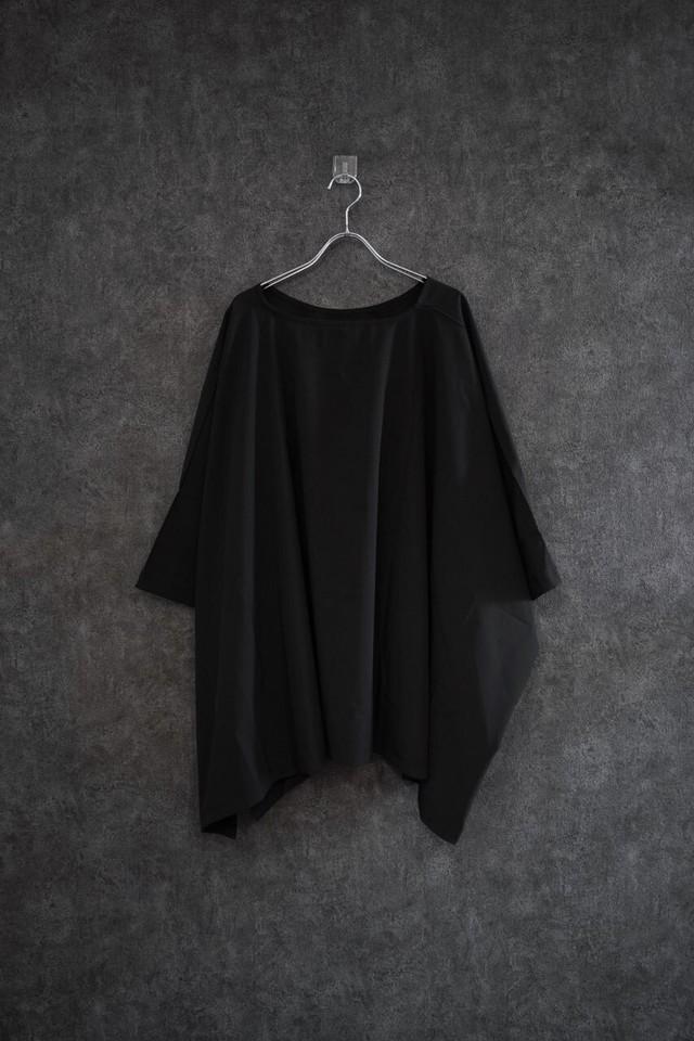 ℃℃℃  no shoulder drop tee  Black