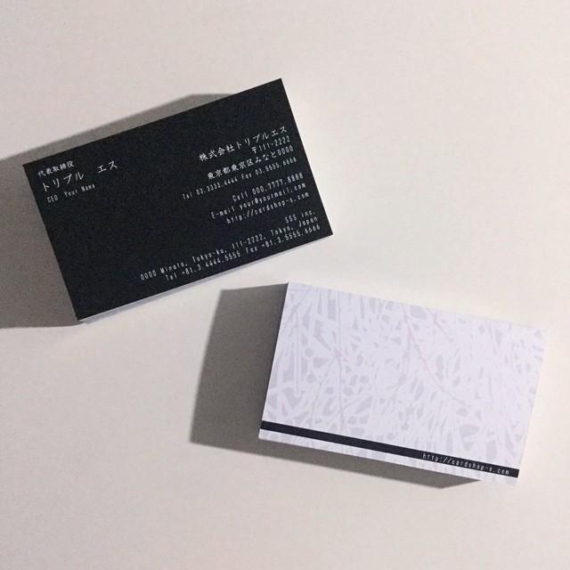 60d1_biz【100枚】ビジネス名刺【英表記】