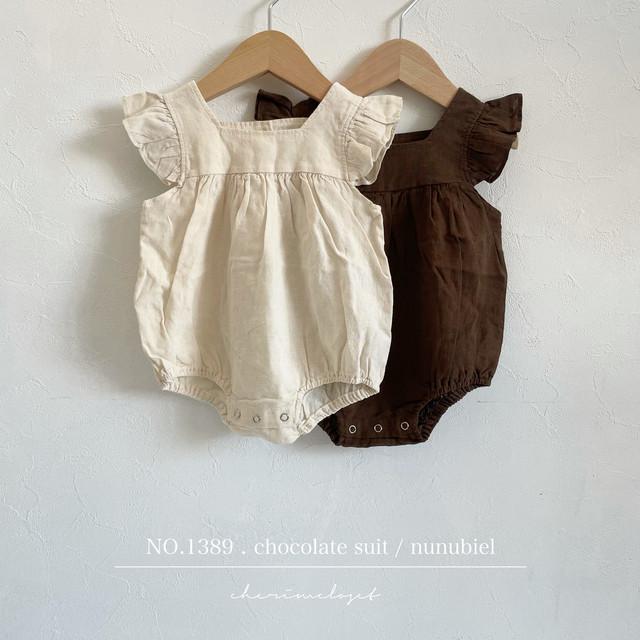 NO.1389 . chocolate suit / nunubiel