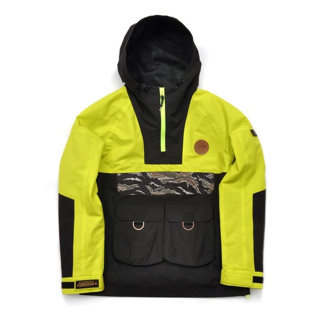 【Banana Bait】Chaac Anorak 2L Jacket / Lime Punch