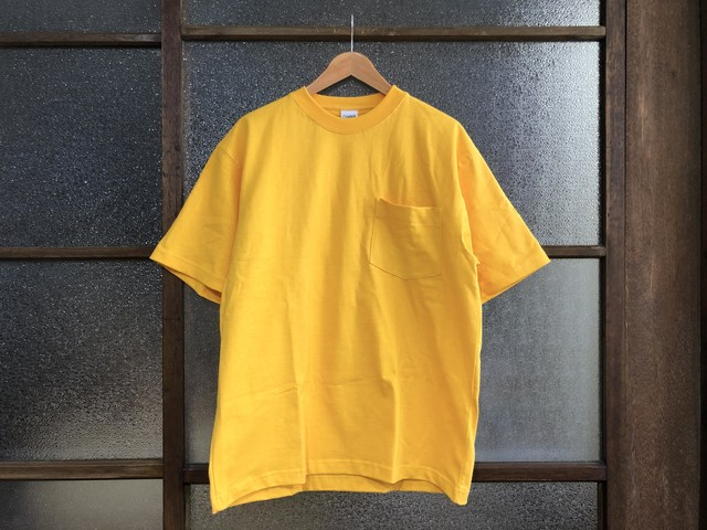 CAMBER MAX WEIGHT POCKET TEE (GOLD)