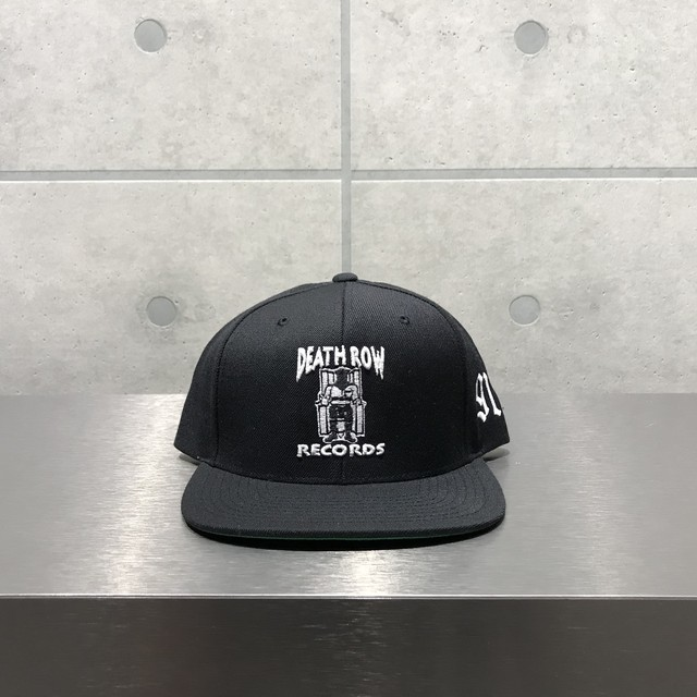 Death Row Records 91 BLACK SNAPBACK / BLACK