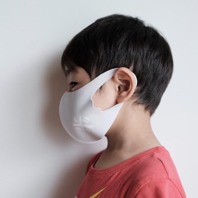 キッズサイズ【夏用】カルペディエムマスク グレージュ(冷感素材)