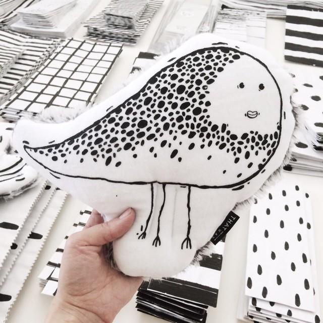 Mascot Mrs Dotted Flea