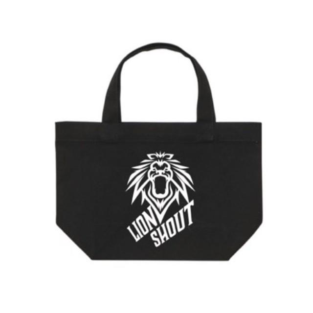 LION SHOUT エコバック【スモール(黒)】