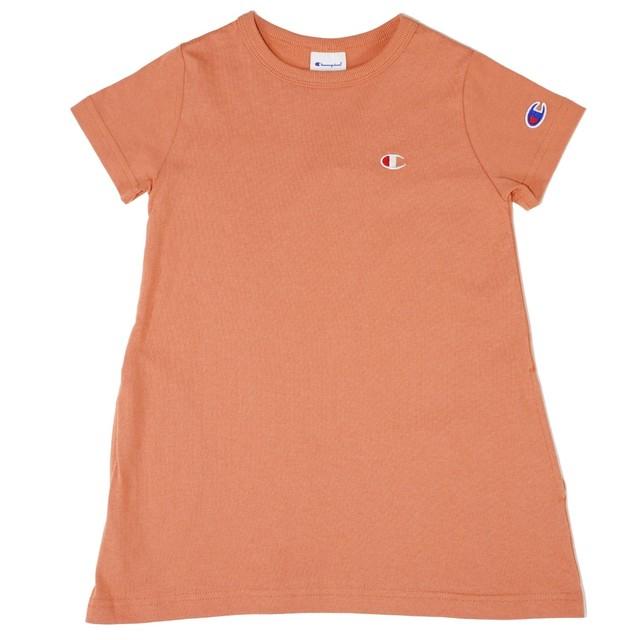 champion ワンポイントチュニックTシャツ