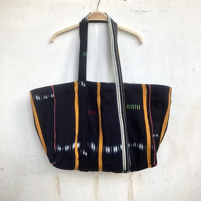 saruche Vintage アフリカンバティックトートbag