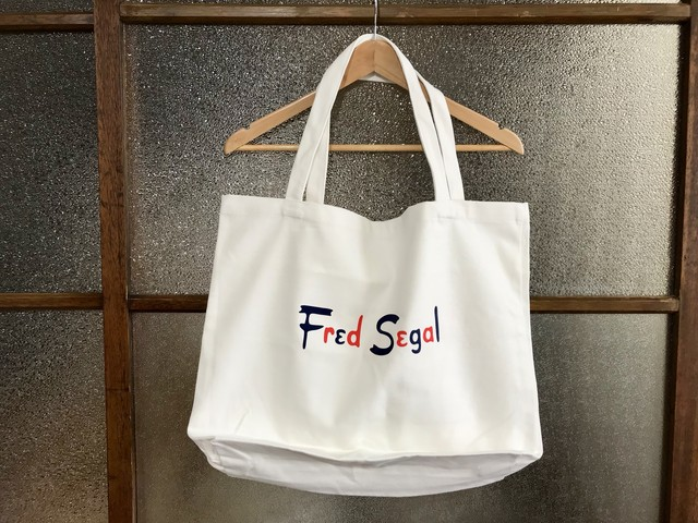 FRED SEGAL TOTE BAG (WHITE)