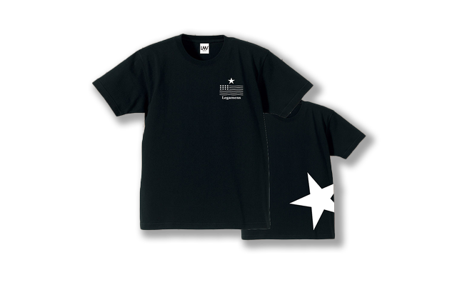 【STAR logo T-shirt】/ black