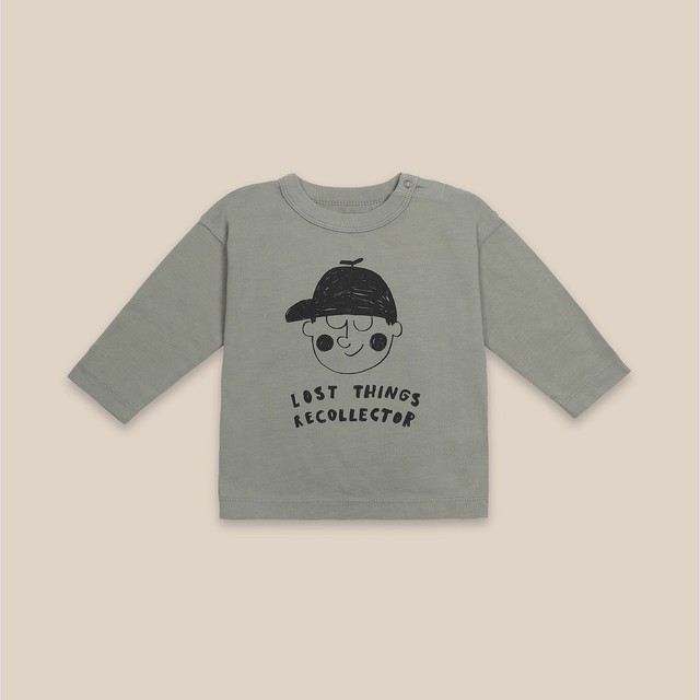 《BOBO CHOSES 2020AW》Boy long sleeve T-shirt / 6-36M