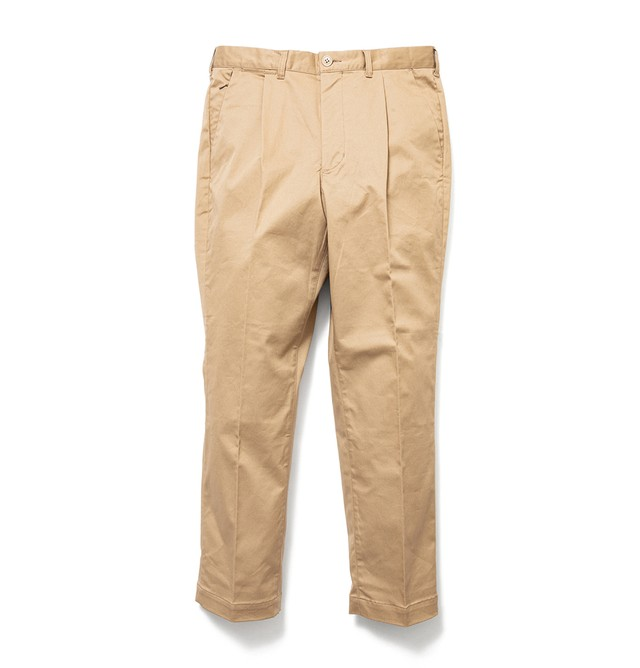 【SON OF THE CHEESE】Driving slacks(BEIGE)