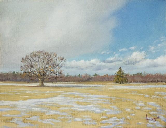 NO.80「雪をさらう風・3月」
