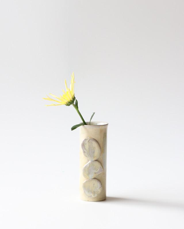 三つ石のフラワーベース  花瓶