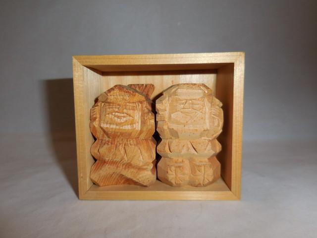 自然木達磨 wooden Dharma(made in Japan)