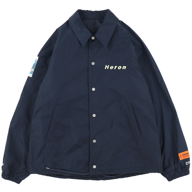 HERON PRESTON  /  CTNMB COACH JACKET  / D.BLUE