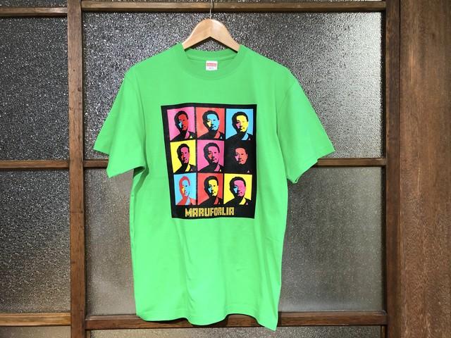 "MARUFORLIA TEE ""表向きは非公認?実は公認ブートTシャツ?!""  (TAKAYA'S BRIGHT GREEN)"