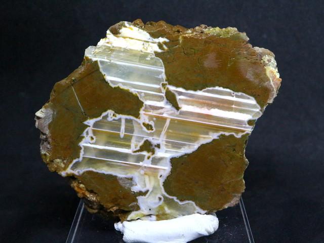 サンダーエッグ スライス 瑪瑙 原石 43.6g THE005 天然石 鉱物 パワーストーン