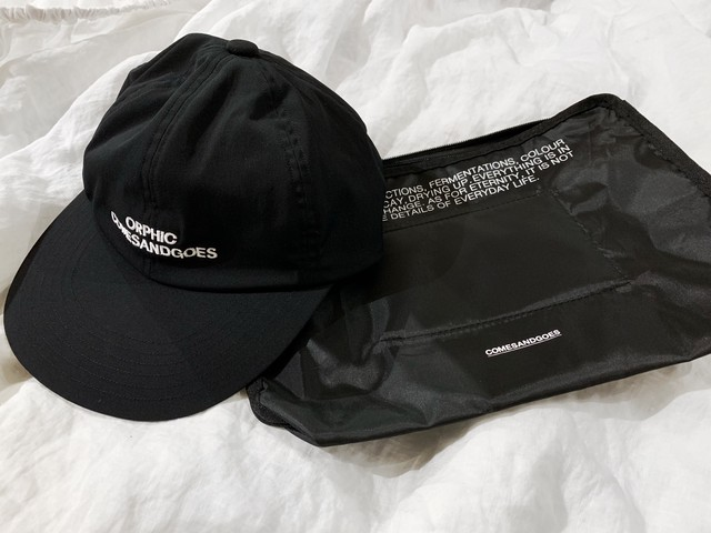 【閉店一律SALE】ORPHIC × COMESANDGOES SIGNS CAP Black