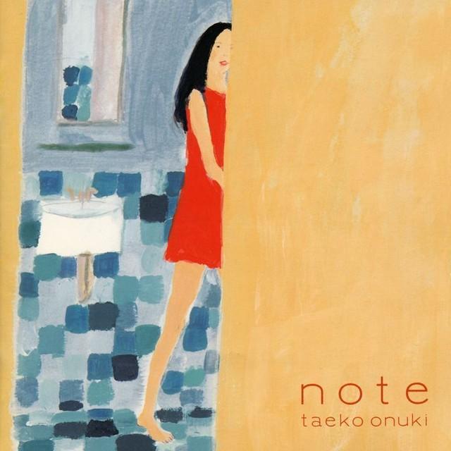 大貫妙子「note」アナログ盤(12インチ)
