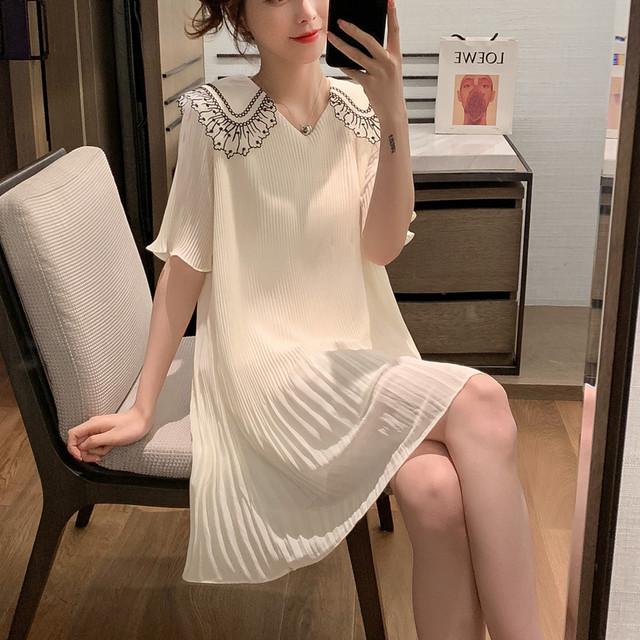 【dress】可愛いスタイル涼感フェアリーキャザー飾りワンピース