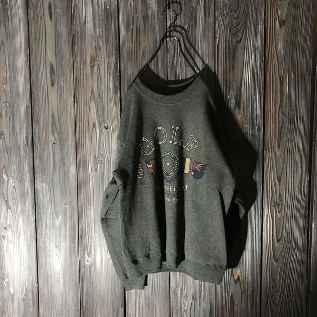 [used]GOLF emblem sweat
