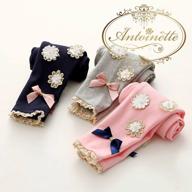 kids jeans short heart pink ribbon キッズ リボン ショートパンツ ピンク 夏服 ANKO149