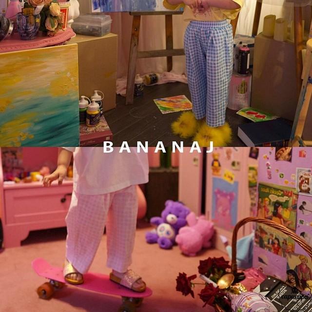 «予約» banana j check pants チェックパンツ