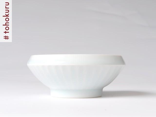 磁器専門工房 陶來|てまる食器/磁器てまる碗・中(しのぎ)